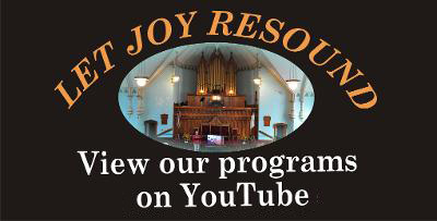 Let Joy Resound - View our programs on YouTube