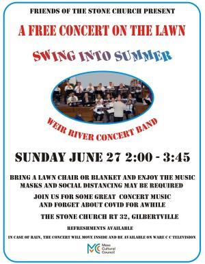 Weir River Concert Band Concert