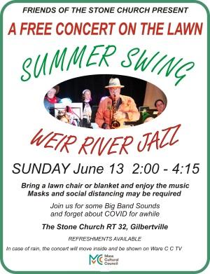Weir River Jazz Concert